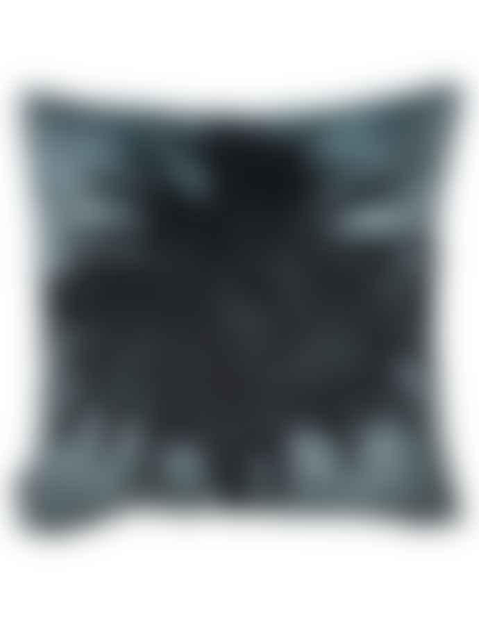 Vanilla Fly Blue Palm Cushion