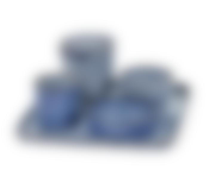 Serax X Small Blue Stoneware Low Cylinder Bowl