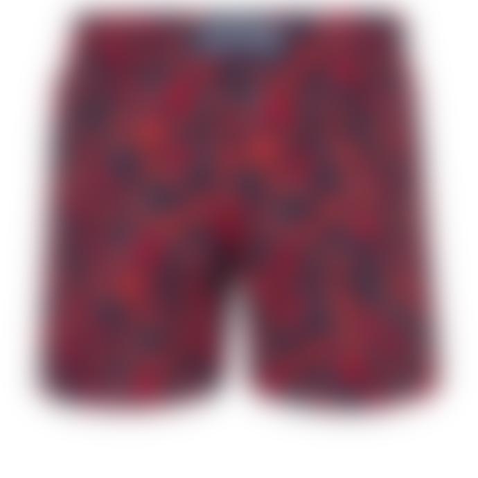 Vilebrequin Vilebrequin Moorise Stretch Crackers Navy