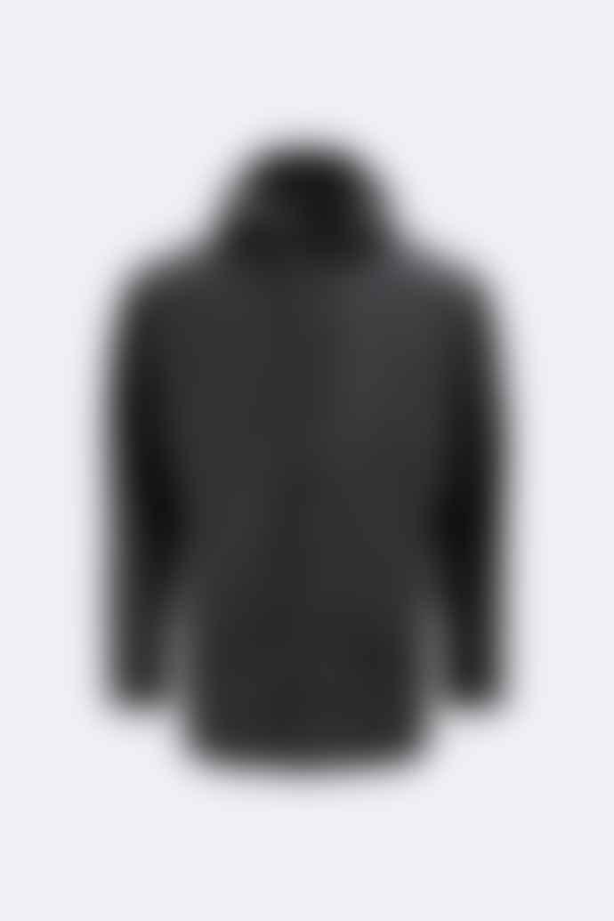 Rains Black 1201 Rain Jacket