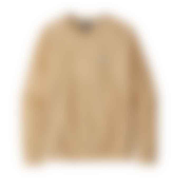 Patagonia Womens Pastel P 6 Label Ahnya Crew Sweatshirt Vela Peach