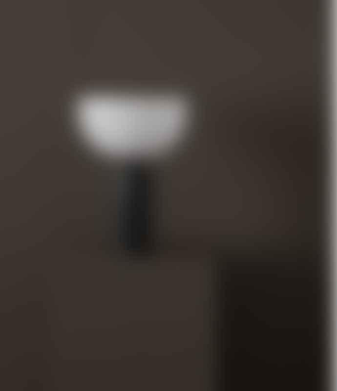 New Works Small White Kizu Table Lamp