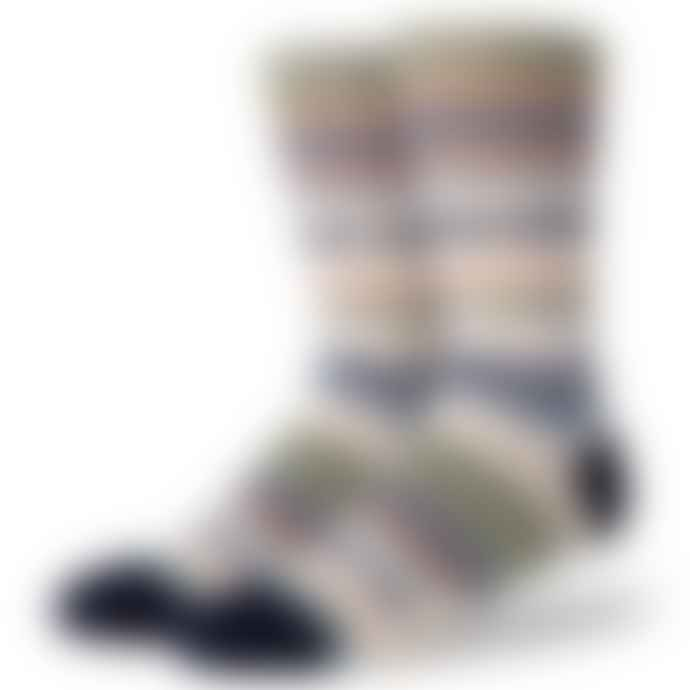 Stance Tucked In Navy Socks