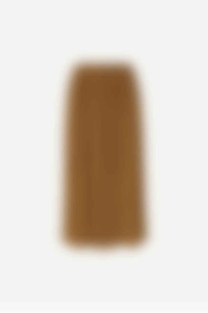 SamsoeSamsoe Brown Uma Skirt