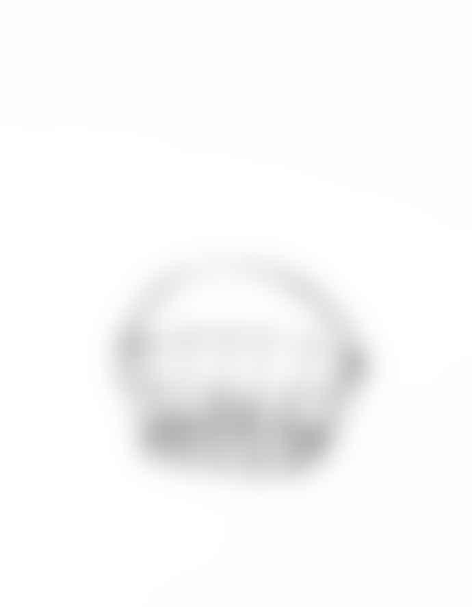 Fog Linen Work Medium Oval Basket