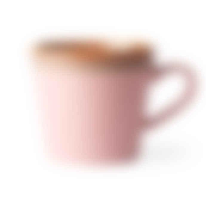 HK Living Ceramic 70s Cappuccino Mug Pink