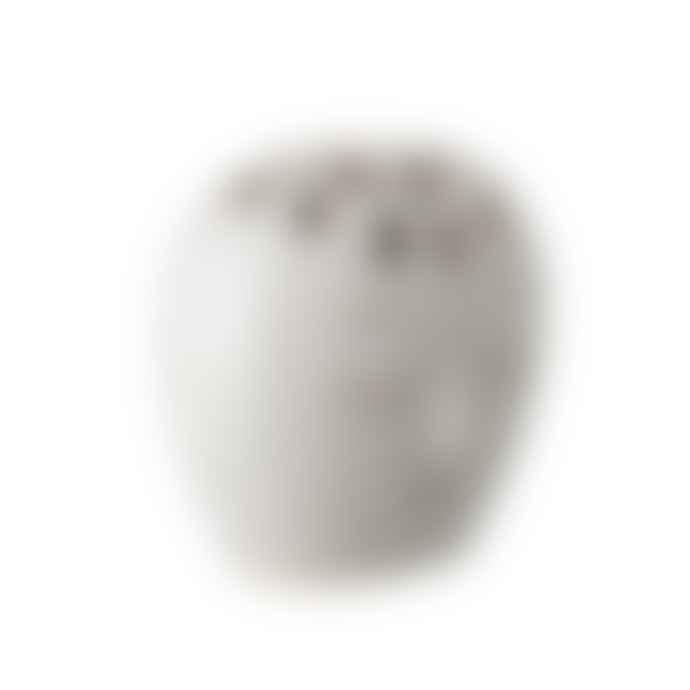 Bloomingville Face Vase White Stoneware