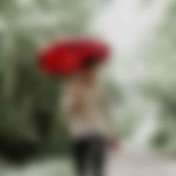 Beau Nuage Le Mini Garnet Red Umbrella