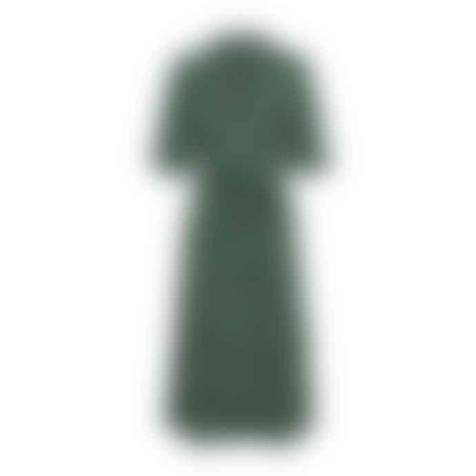 Blend She  Green Floral Print Shirtdress