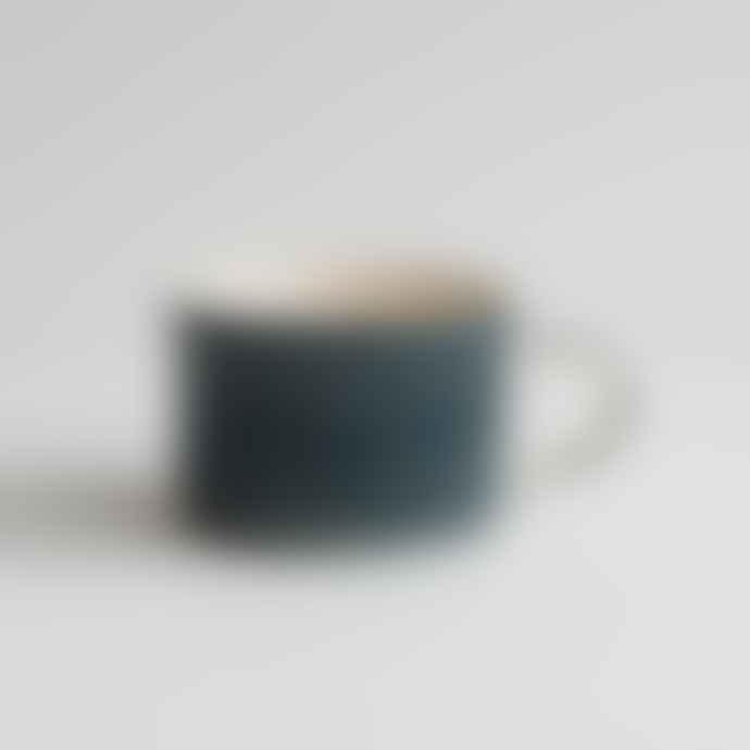 Musango Handmade Large Mug In Teal