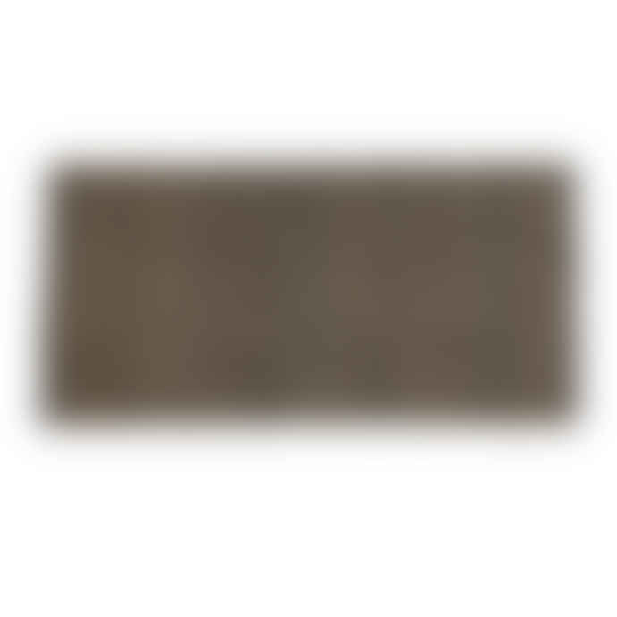 Q1 Carpets Black Cotton and Seagrass Diamond Pattern Rug