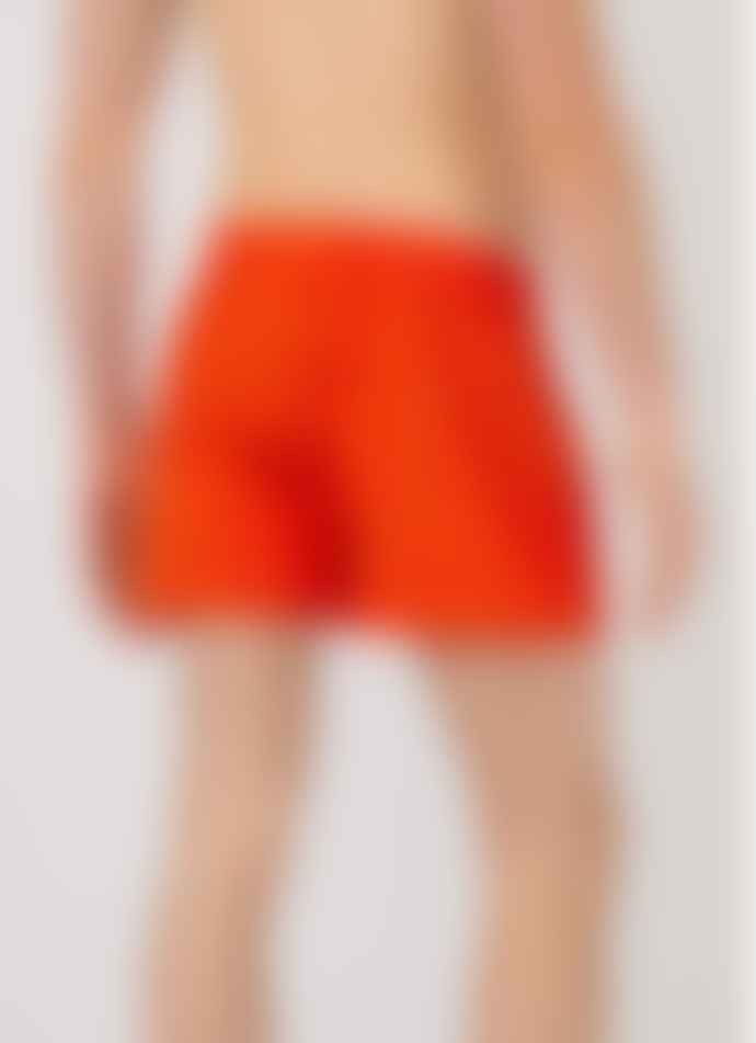 Sunspel Boxer Short Valentines Booth Red
