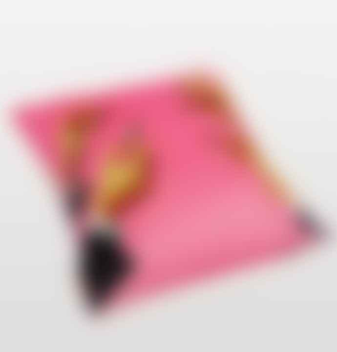 Seletti Toiletpaper Lipsticks Pink Cushion