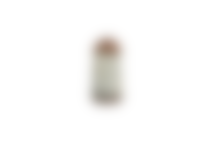 Nkuku Bennu Mini Straight Vase Large - Aged Zinc