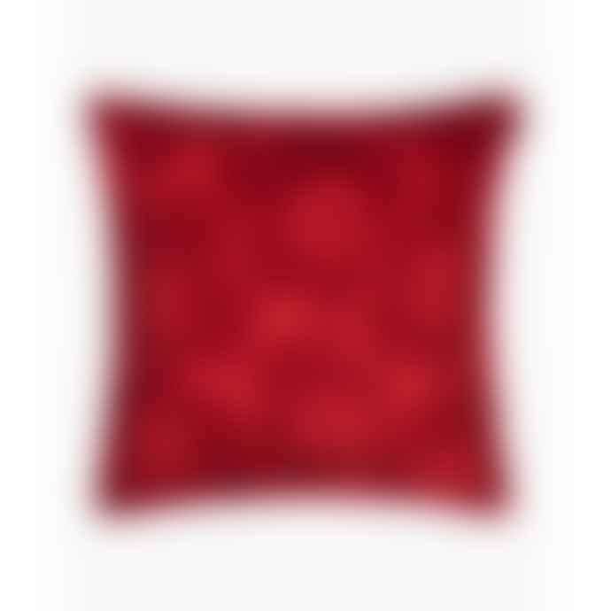 Marimekko  Red Unikko Cushion Cover