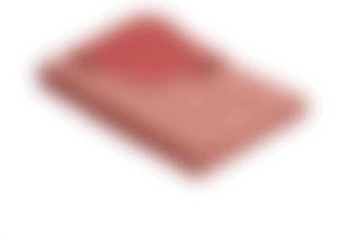 Ibena Orange Reversible Fleece Blanket