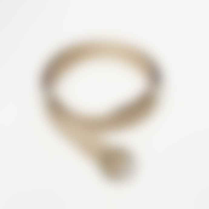 Collection & Co Nina Beige Fabric Ring Belt