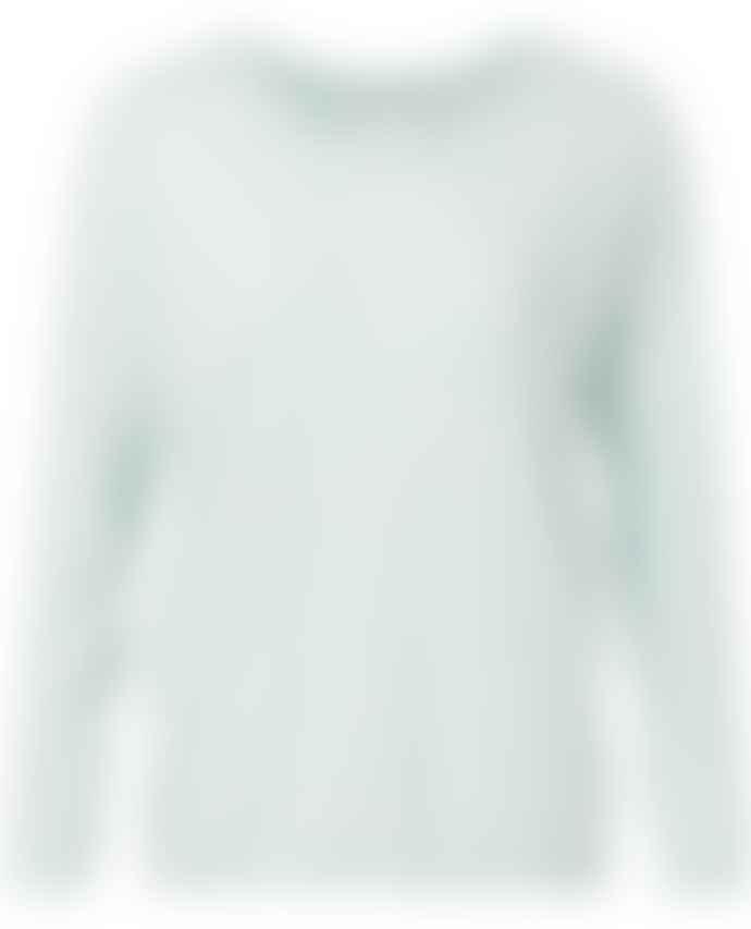 Yaya Ice Blue Cotton Sweater