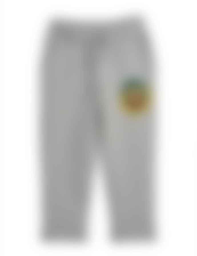 Mini Rodini Grey Badge Sweatpant