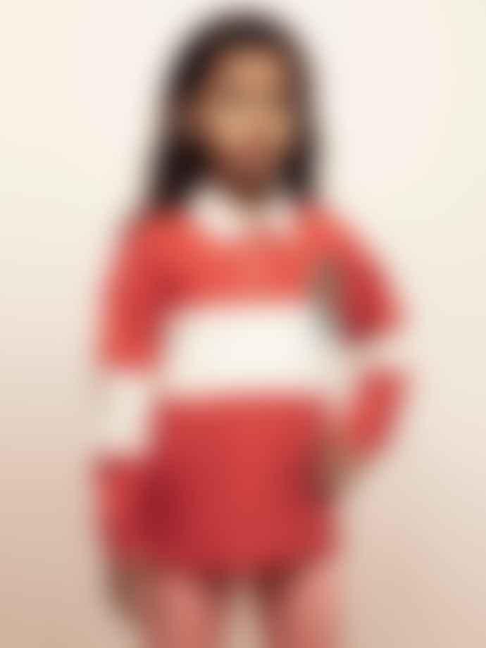 Mini Rodini Red Rugby Shirt