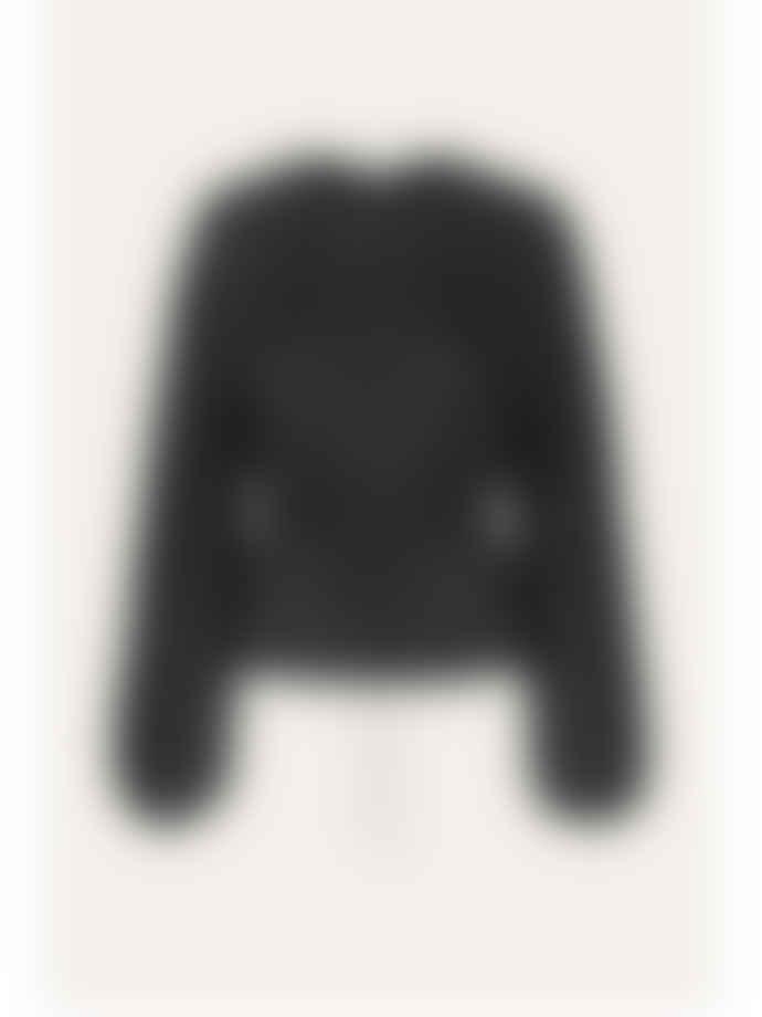 Stine Goya Black Lace Sahara Top
