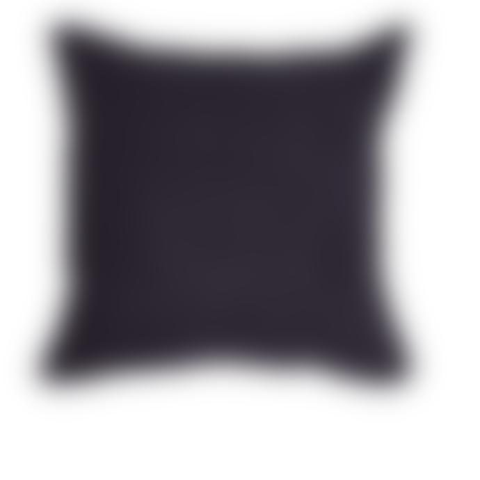Lime Light Dark Blue Linen Cushion