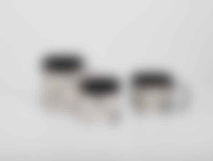 Kinta 150ml Black Ceramic Marble Look Cup