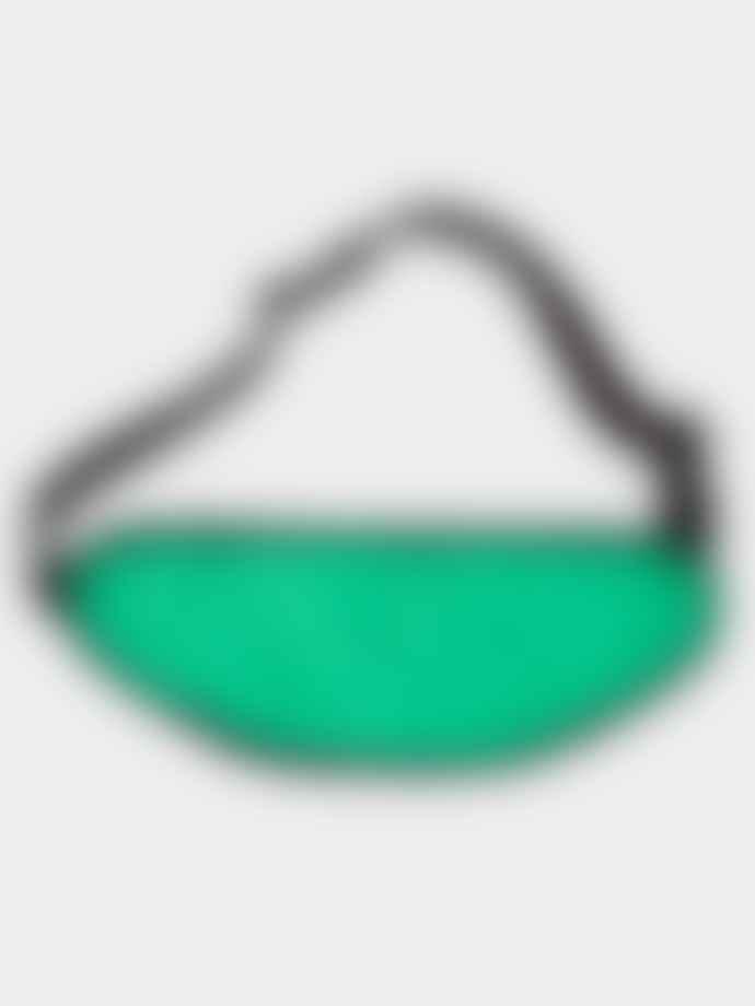 A.P.C. Repeat Logo Banane Vert Green Hip Bag