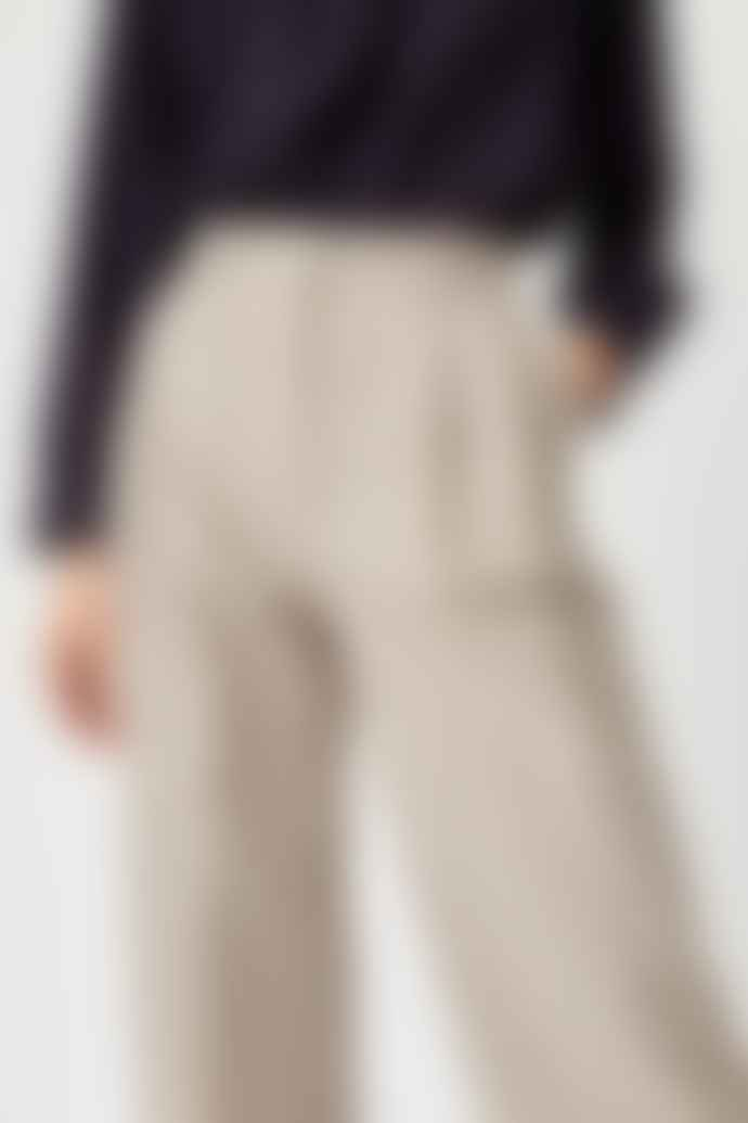 Wood Wood Sunna Green Check Trousers