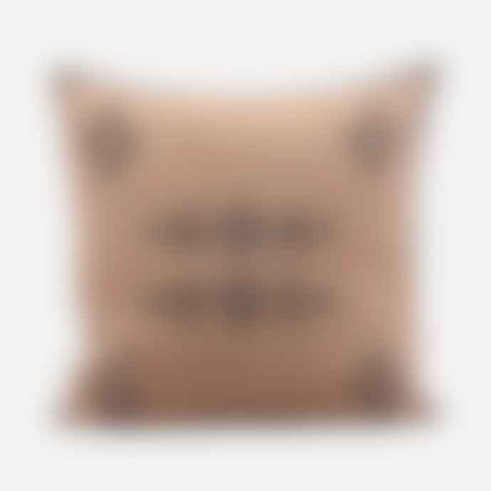 House Doctor Cushion Cover Inka Nude