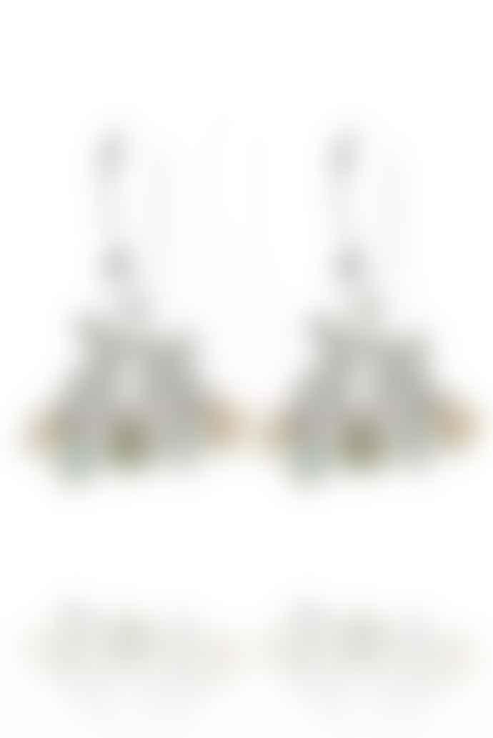 Amanda Coleman Sterling Silver Kissing Bunny Earrings