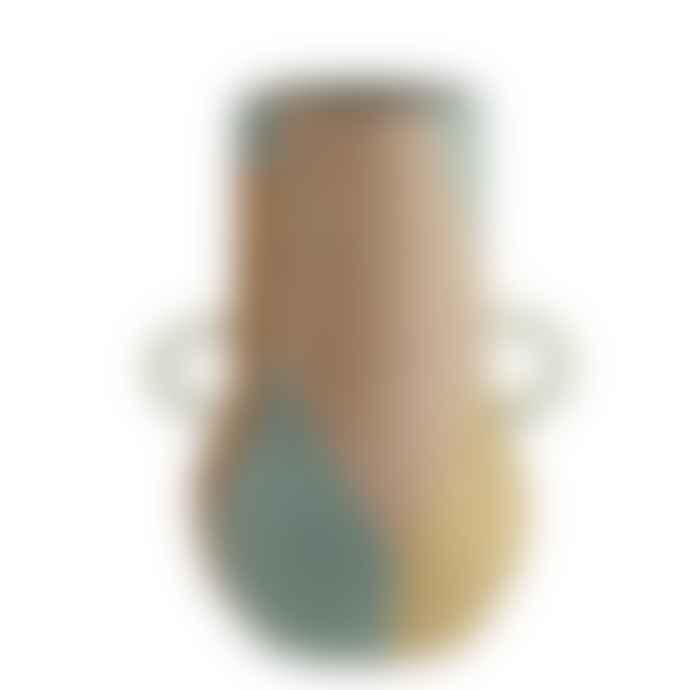 Madam Stoltz Abstract Terracotta Vase Large