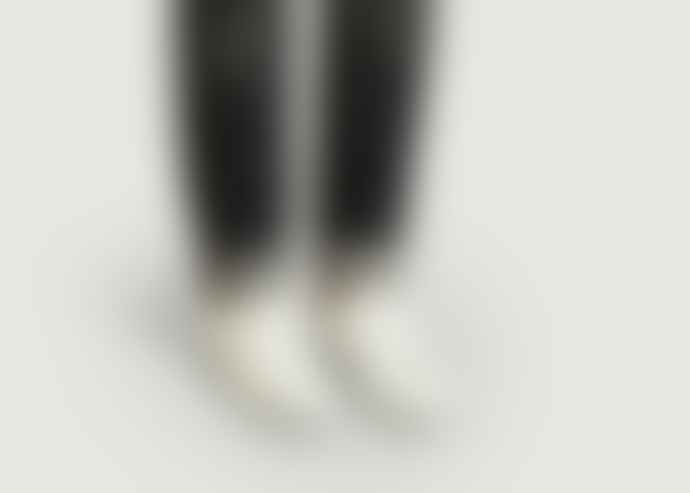 Le Coq Sportif White and Cognac Avantage Sneakers