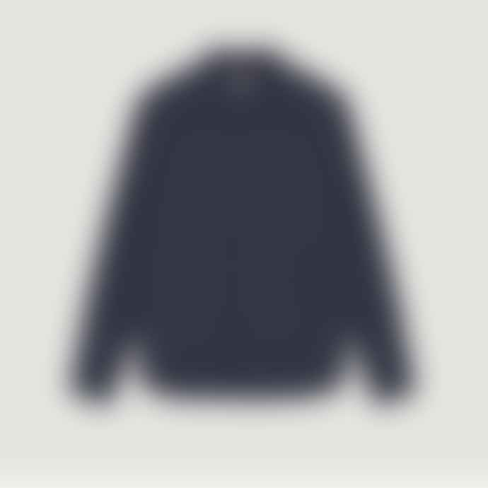 YMC Blue Marine Cotton Curtis Shirt