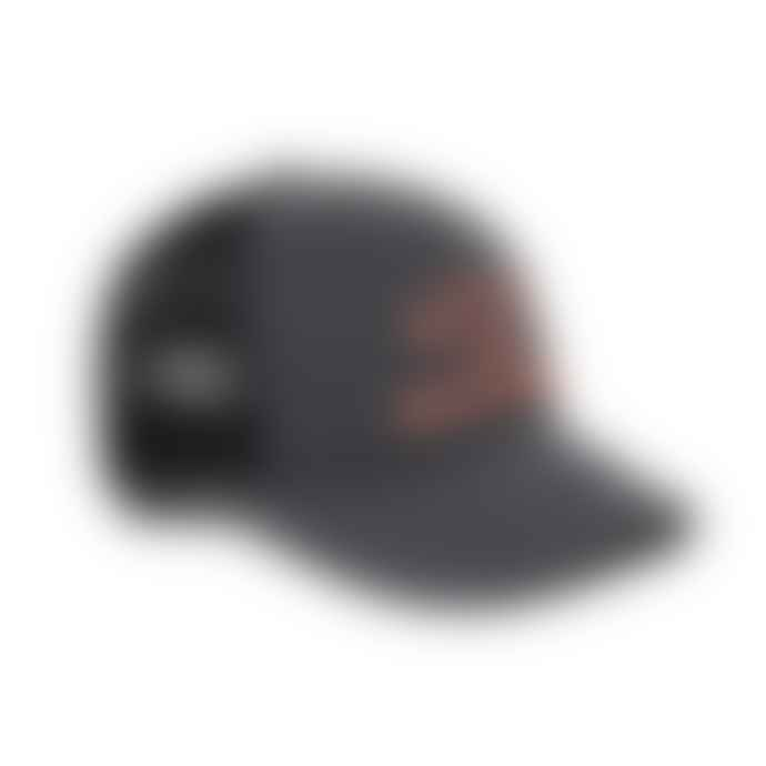 Deus Ex Machina Roller Trucker Hat Black