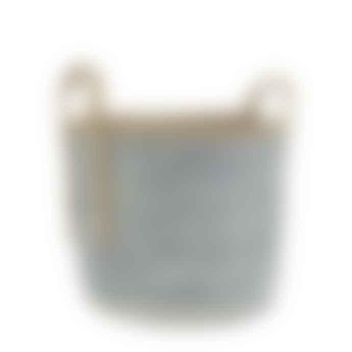 Ib Laursen Blue Rustic Basket Large