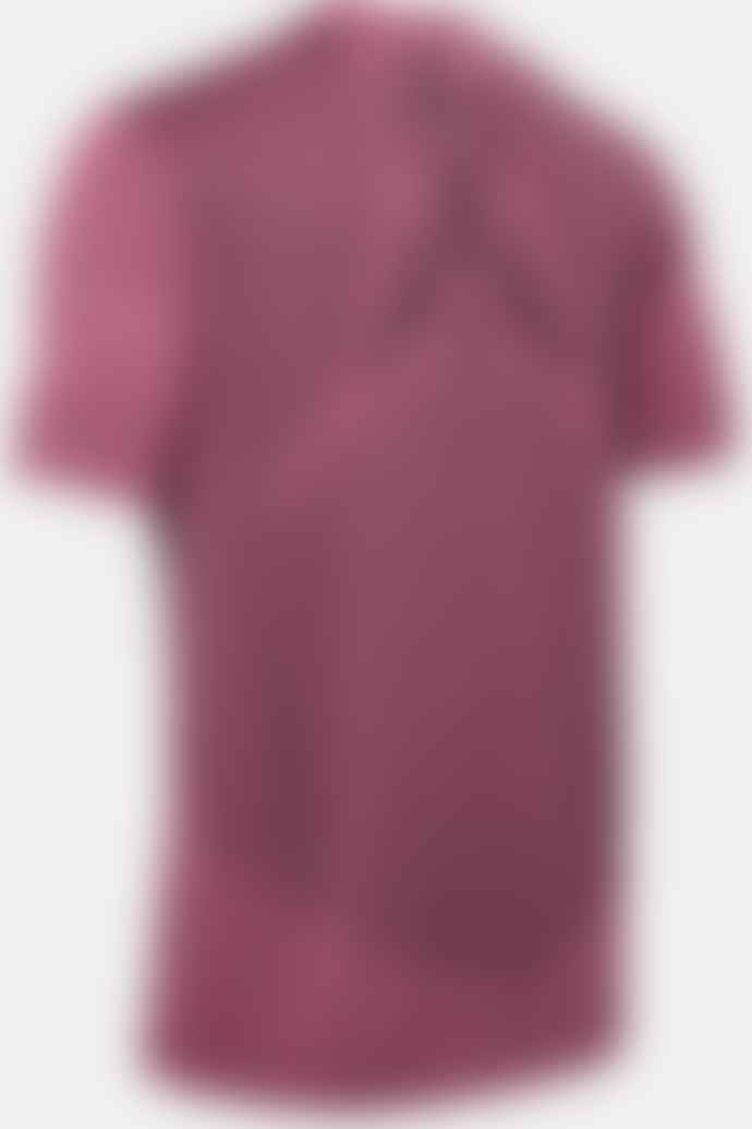 Under Armour Rush Seamless Fitted Short Sleeve Pink T Shirt