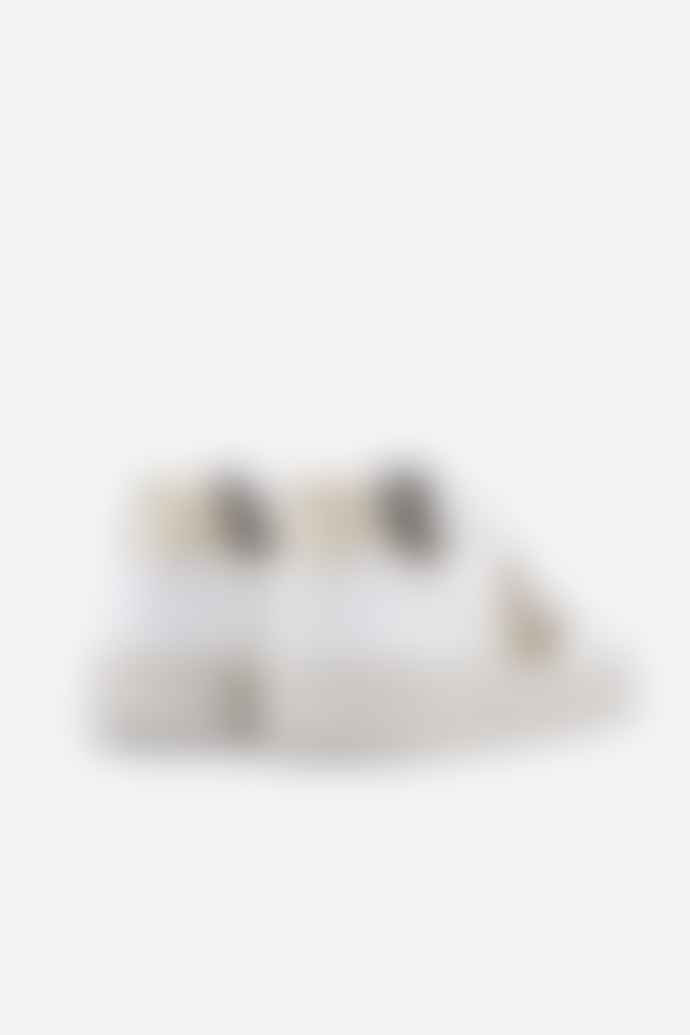 Veja V 10 B Mesh White Gold Womens Shoes