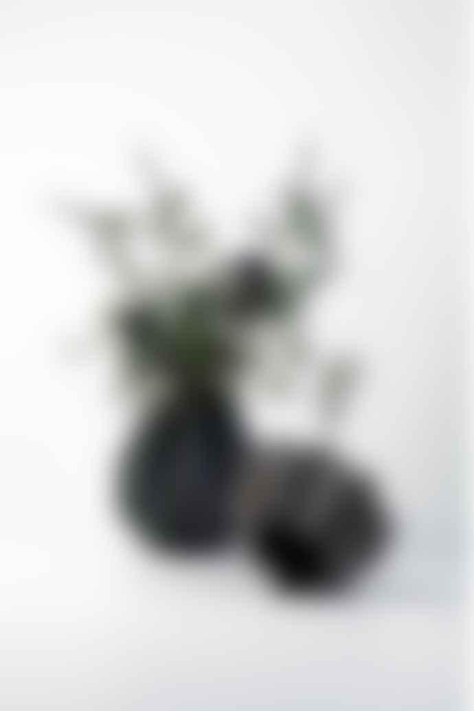 Menu Folded Vase Dark Grey