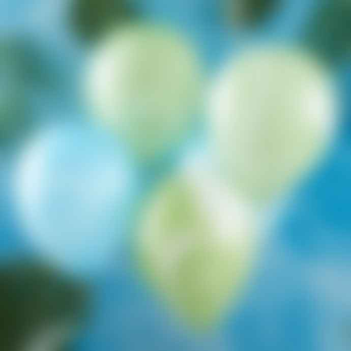 Ginger Ray Green and Blue Marble Roarsome Party Balloons