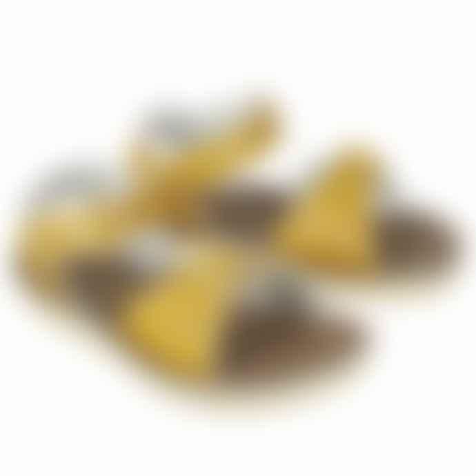 Sun-San Surfer Salt Water Sandals Mustard
