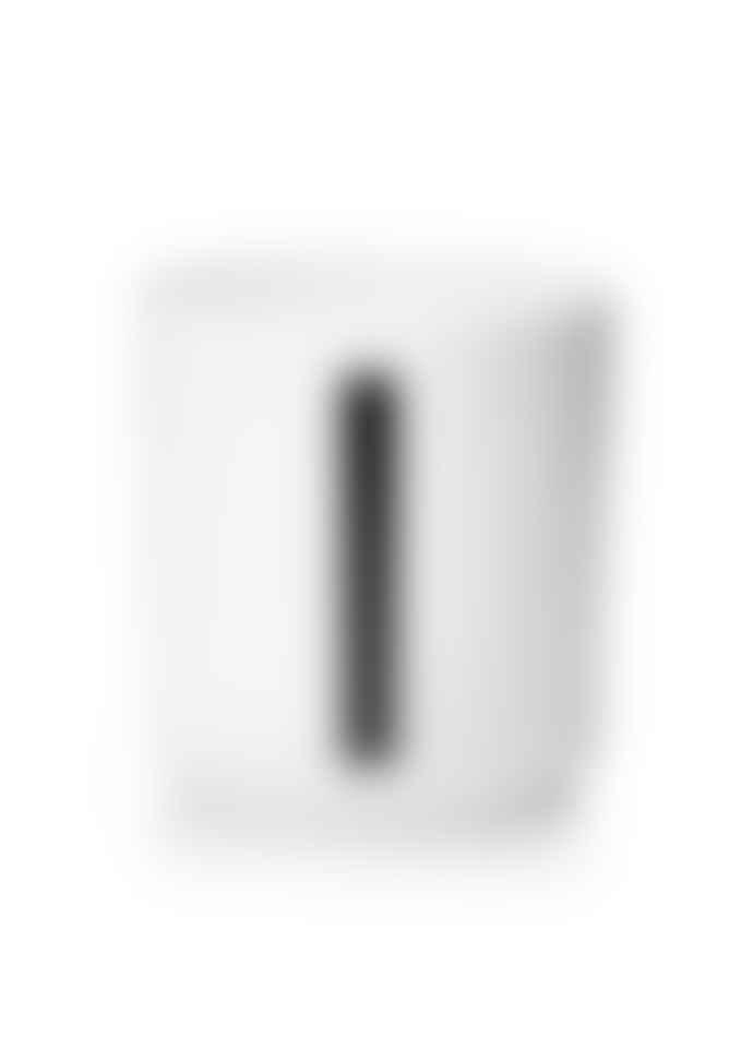 Design Letters White Porcelain A-Z Cup