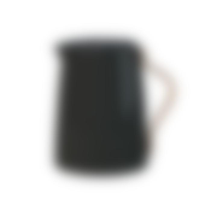 Stelton Matt Black Tea Vacuum Jug