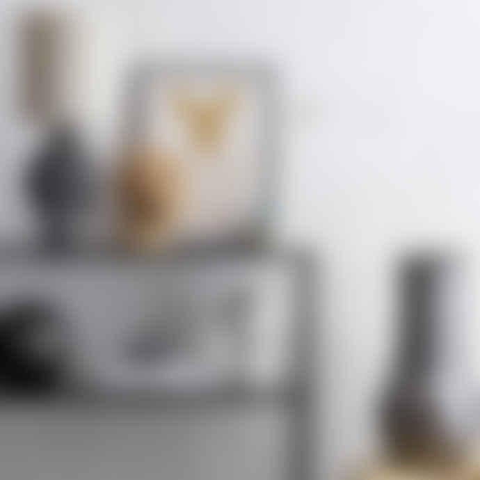 Mink Interiors Modern White Cement Head Sculpture