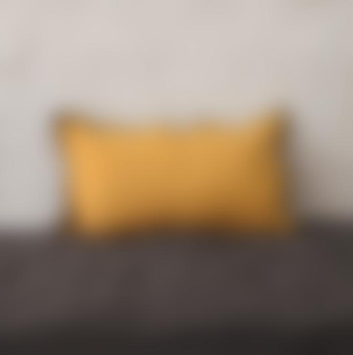 Balakata 30 x 50cm Turmeric Linen Cushion Cover