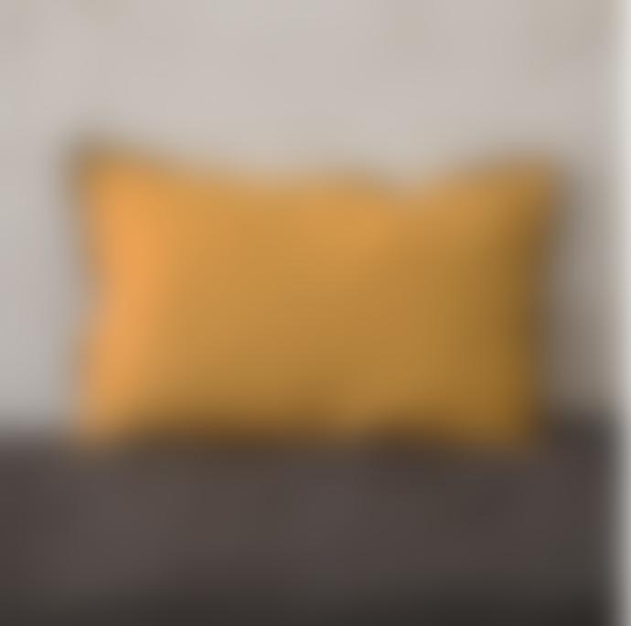 Balakata 40 x 60cm Turmeric Linen Cushion Cover