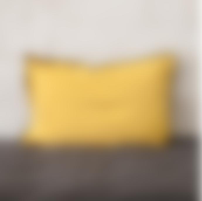 Balakata 40 x 60cm Curry Linen Cushion Cover