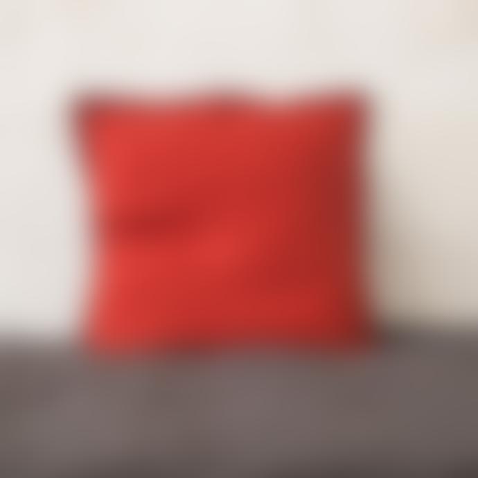 Balakata 45 x 45cm Chili Linen Cushion Cover