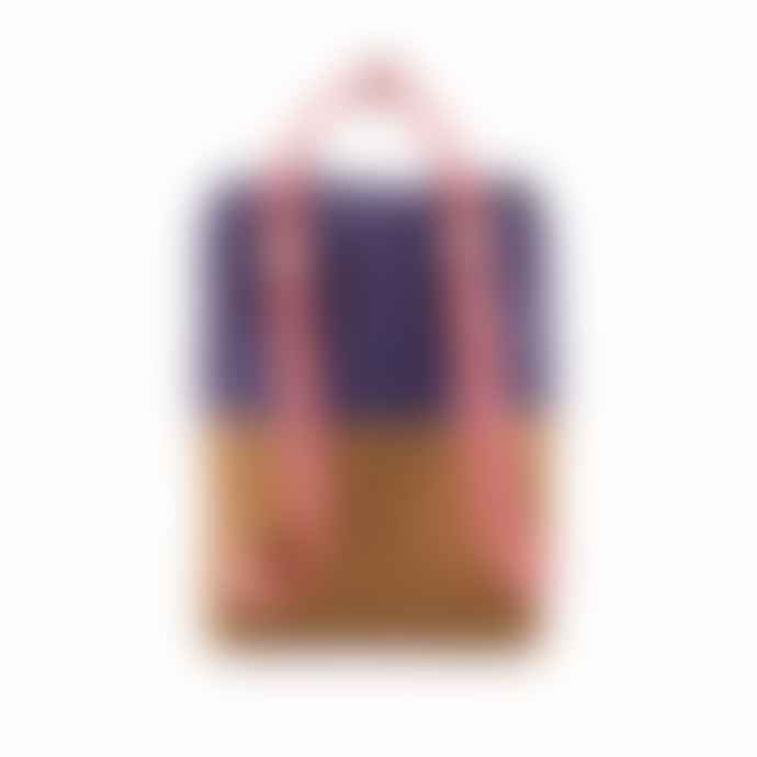 Sticky Lemon Large Backpack Colour Blocking Lobby Purple