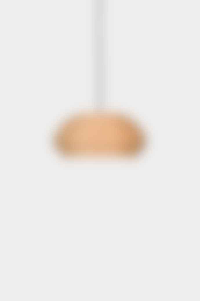 Ay illuminate Medium Natural Thin Wood Pendant Lamp